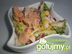 Mix sałat z tuńczykiem