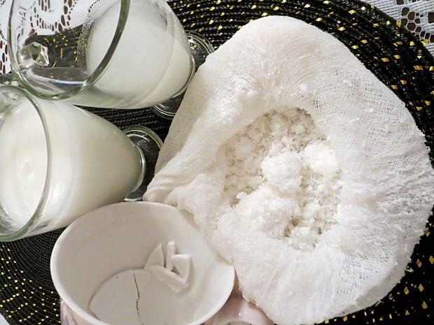 Mleczko i woda kokosowa