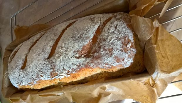 Mleczny chleb pszenno orkiszowy
