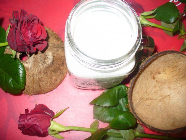 Mleko kokosowe ze świeżego kokosa