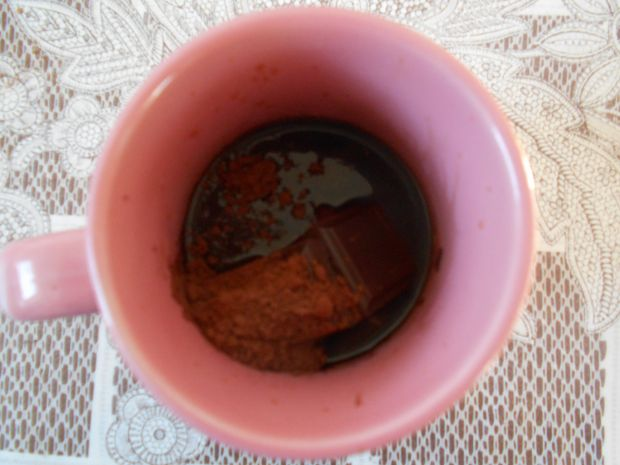 Mocno czekoladowa kawa mrożona