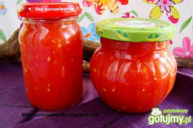 Mój przecier pomidorowy