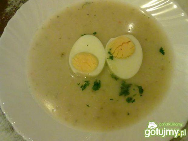 Moja chrzanowa z jajkiem