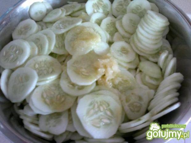 moja sałatka z ogórków na zimę