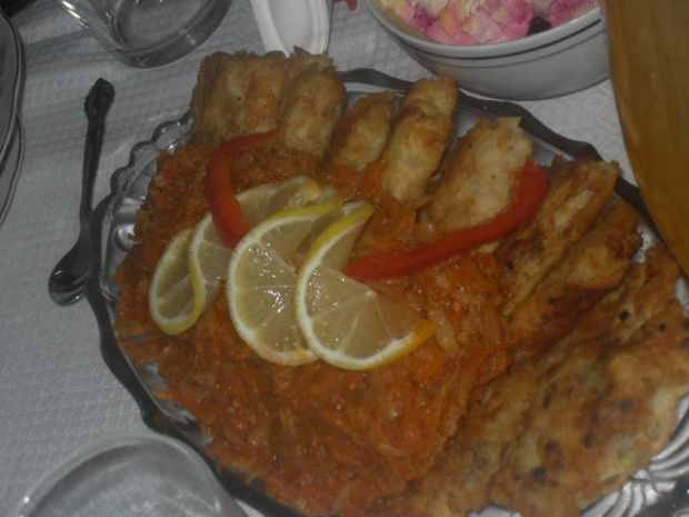 Moja wigilijna ryba po grecku - smażona