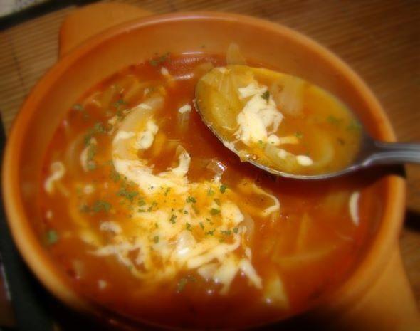 Moja zupa cebulowa na sposób hiszpański