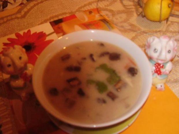 Moja zupa grzybowa z zacierkami