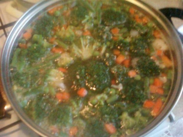 Moja zupka brokułowa