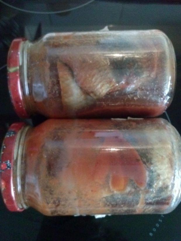 Moje filety ze sledzia w sosie pomidorowym