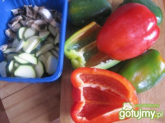 Moje warzywne kolorowe leczo