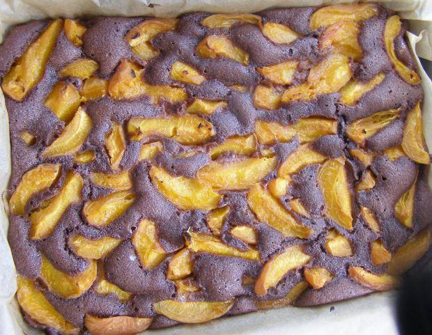 Morelowe ciasto kakaowe