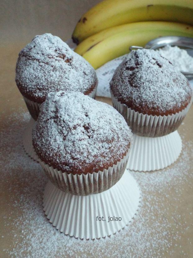 Muffinki bananowe z czekoladowymi kropelkami