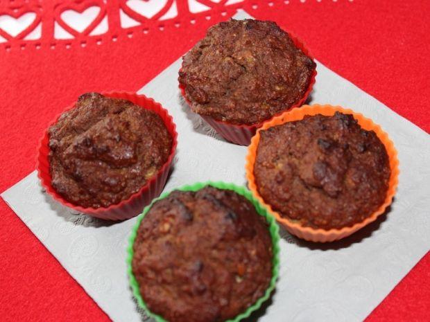 Muffinki bananowo-kakaowe