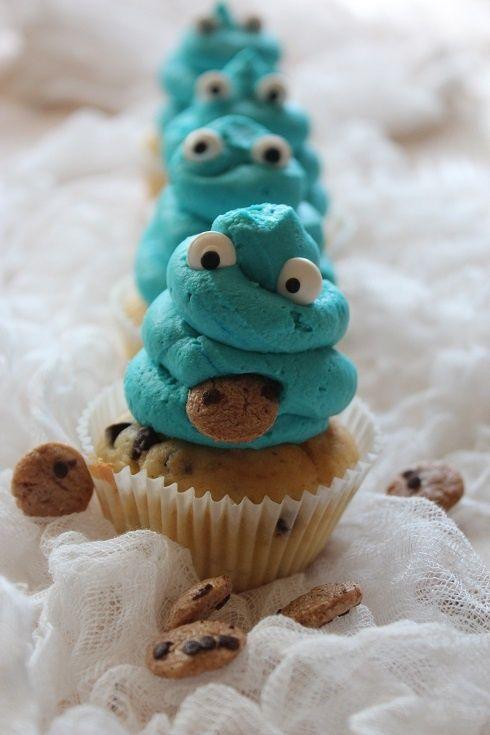 Muffinki Ciasteczkowy Potwór