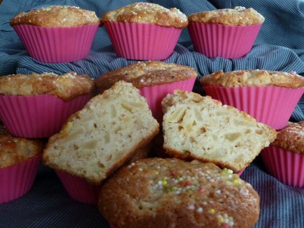 Muffinki cynamonowe z jabłkami - mini szarlotki