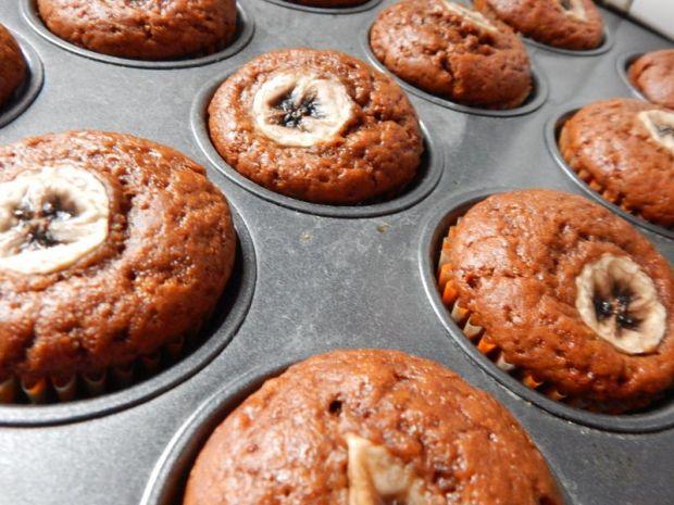 Muffinki korzenne z dynią