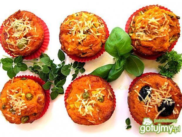 Muffinki pomidorowe