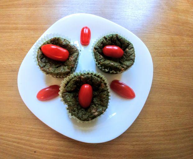Muffinki szpinakowe
