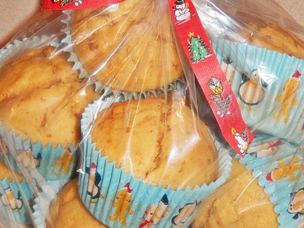 Muffinki toffi z bananami