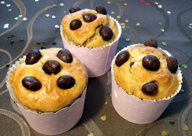 Muffinki toffi z maltikeksami
