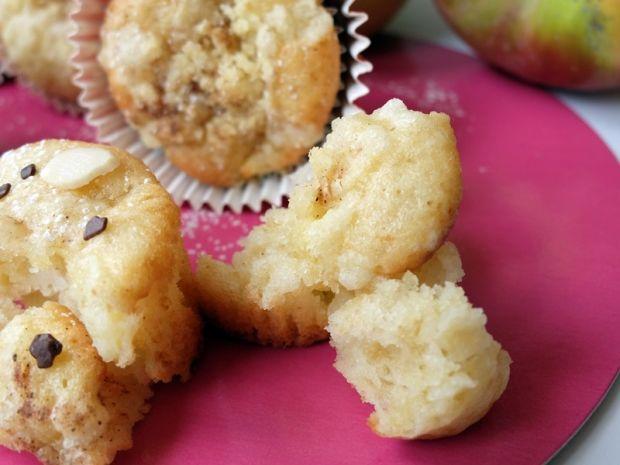 Muffinki z cydrem i jabłkami