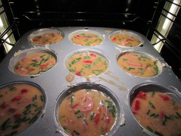 Muffinki z jajek
