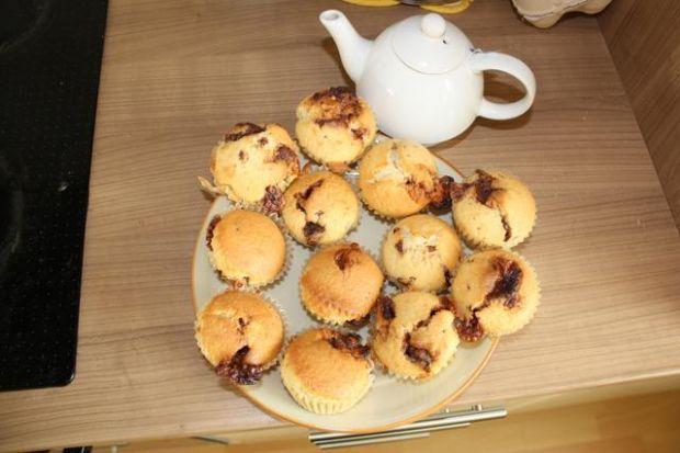 Muffinki ze snikersem