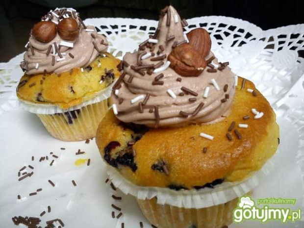 Muffiny dla karmelowego misia ;)