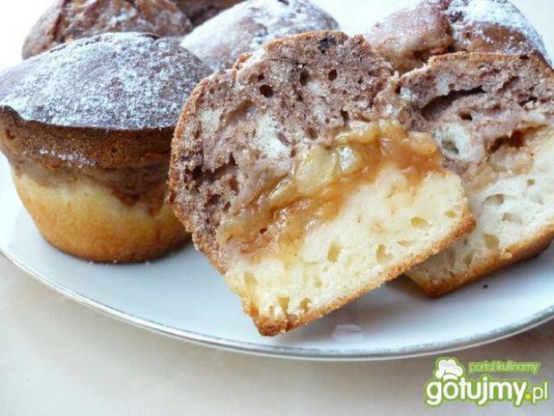 Muffiny kakaowo-waniliowe