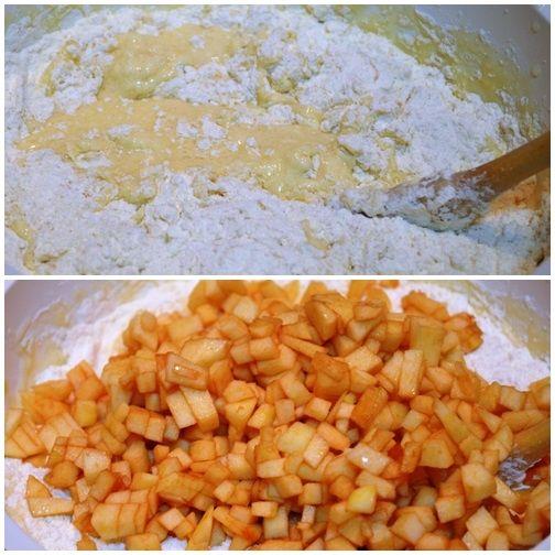 Muffiny o smaku pieczonych jabłek