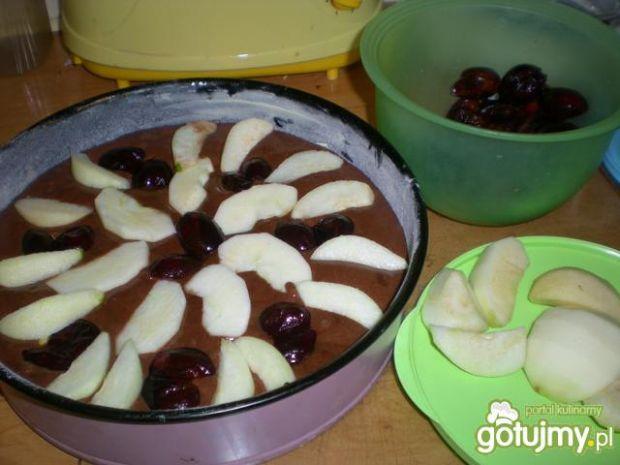 Murzynek z owocami