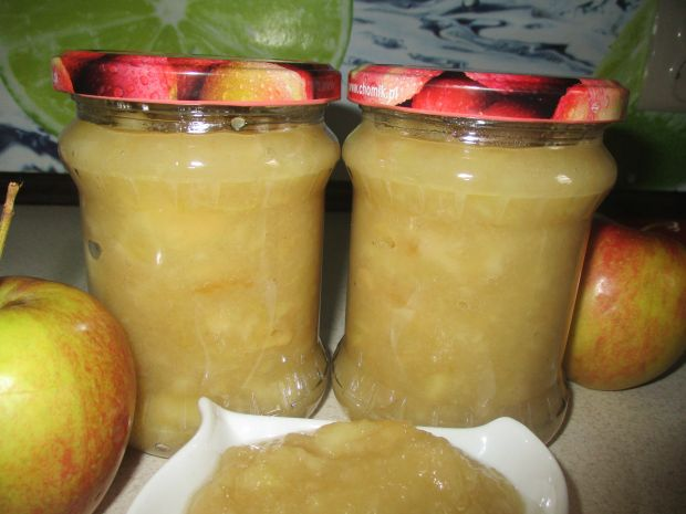 Mus jabłkowy z sokiem cytrynowym
