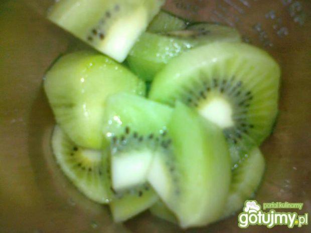Mus owocowy z kiwi i banananem