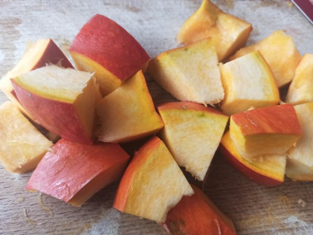 Mus z jabłek i pieczonej dyni