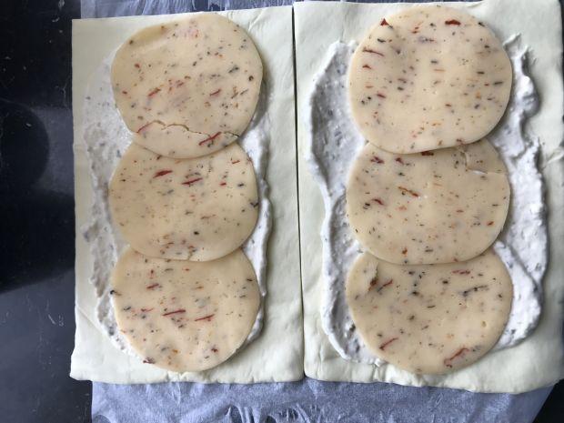 Muszelki z ciasta francuskiego