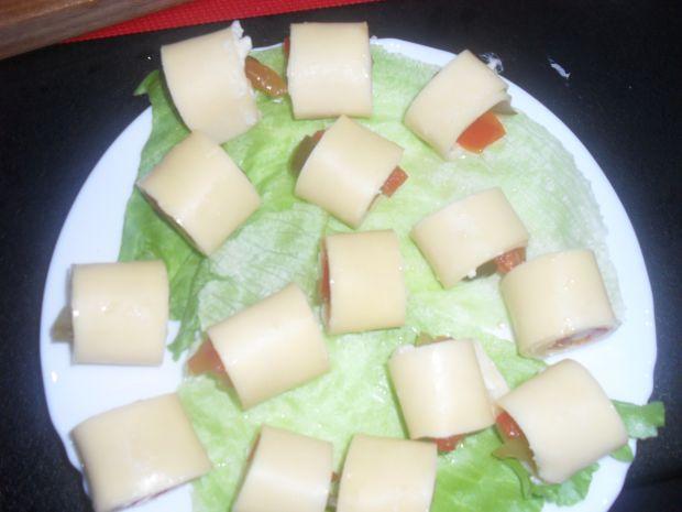 Nadziewany ser żółty