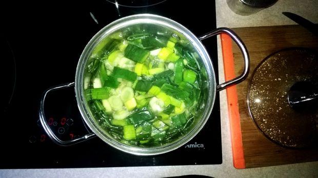 Najprostsza zupa z pora