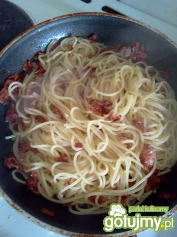 Najprostsze spaghetti carbonara