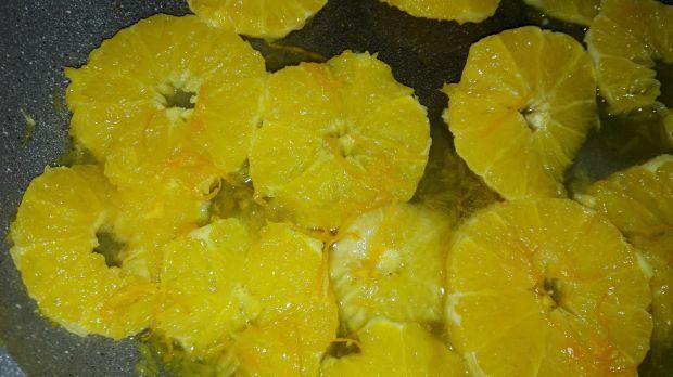 Naleśniki budyniowe z pomarańczą