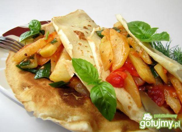Naleśniki wegetariańskie z kalarepą