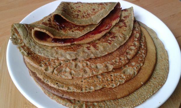 Naleśniki z dyniowej mąki