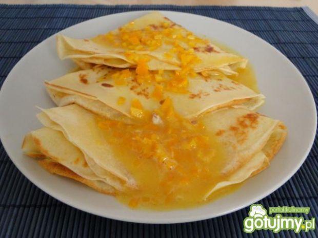 Naleśniki z karmelem pomarańczowym