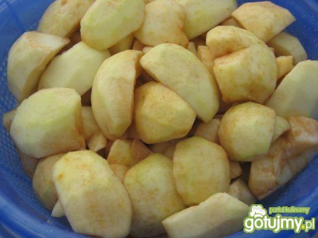 Naleśniki z prażonymi jabłkami