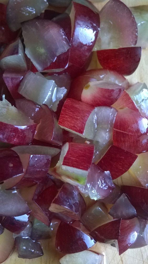Naleśniki z winogronami