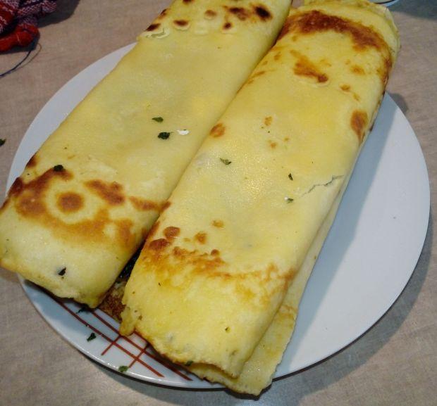 Naleśniki ze szpinakiem i serem feta