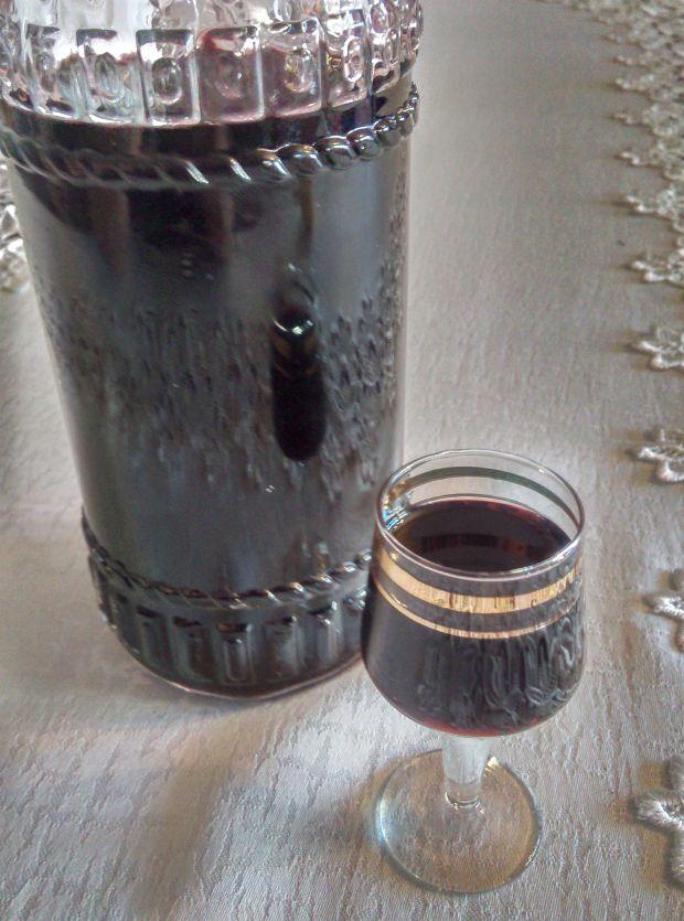 Nalewka z czarnego bzu