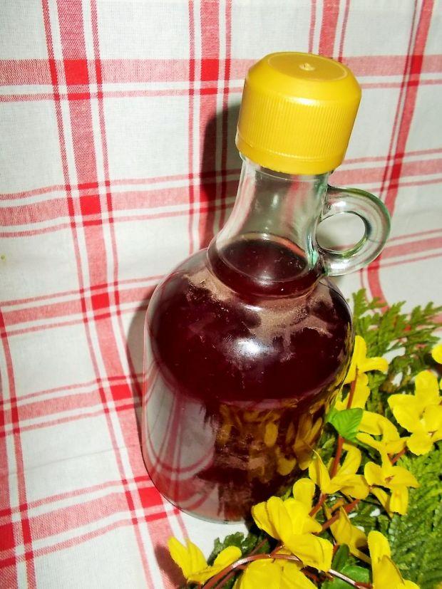 Nalewka z wiśni i malin