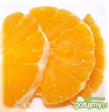 Niedzielny deser pomarańczowy.