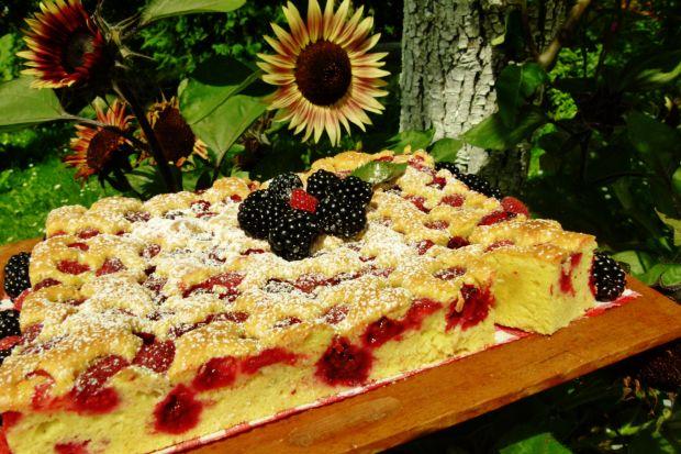 Niezastąpiony ciasto -10 łyżek z leśnymi owocami