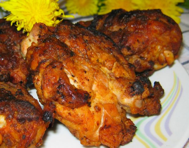 Nogi kurczaka na grilla